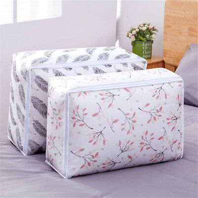 Quilt Storage Bag Flamingo Shape Home Clothes Quilts Pillow Blanket Storage Bags