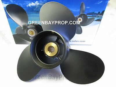 9.25 x 10 Pitch Prop For Suzuki 8 9.9 15 20 Hp Outboard