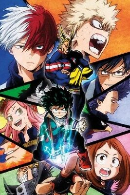 MY HERO ACADEMIA POSTER - NEW SEASON 2 VERSION, size 24x36