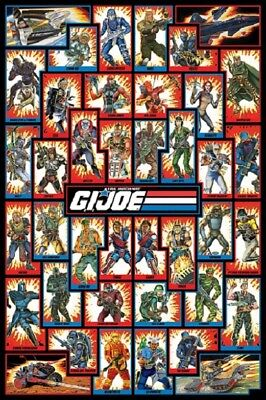 GI JOE POSTER - CHARACTERS - US Animated Version, size 24x36
