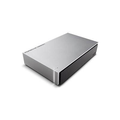 LaCie Porsche Design Desktop Drive P9233 USB 3.0 - 8TB 3.5 Zoll Light Grey