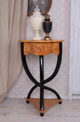 Telephone Wall Side Table Root Wood Baroque Console