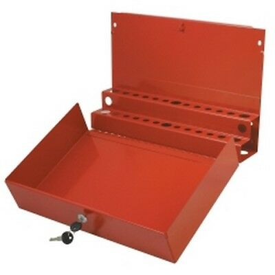 Extra Large Locking Screwdriver/Pry Bar Holder for Service Cart - Red SUN8011