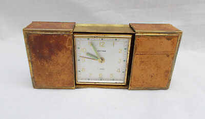 Vintage Estyma Travel Alarm Clock - For Parts Not Working