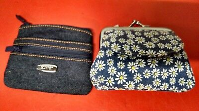 Buxton Two Pieces Of  Coin Or Change Purses...brand New With Tags No Reserve..