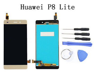 Full LCD Display Touch Screen Digitizer Assembly with Tools For Huawei P8 Lite