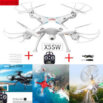 Syma X5SW RC Drone Quadcopter WiFi 2MP Camera FPV Real-time Transmit 3D Flip
