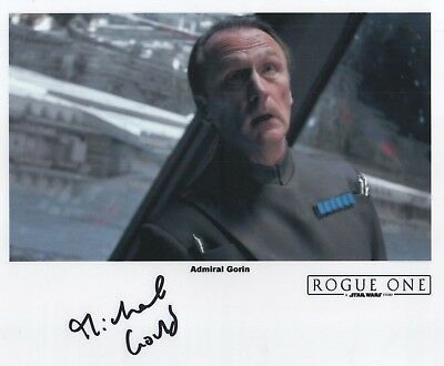 "Star Wars: Rogue One Auto Photo Print Michael Gould ""Admiral Gorin"""