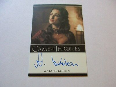 Game of Thrones Season 7 - * Ania Bukstein as Kinvara (Bordered) Autograph Card