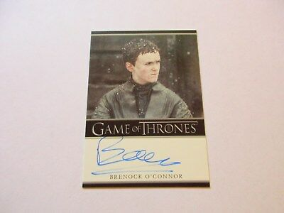 Game of Thrones Season 7 - Brenock O'Connor as Olly Autograph Card