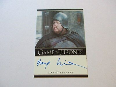 Game of Thrones Season 7 - Danny Kirrane as Henk Autograph Card