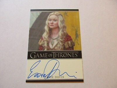 Game of Thrones Season 7 - Essie Davis as Lady Crane Autograph Card