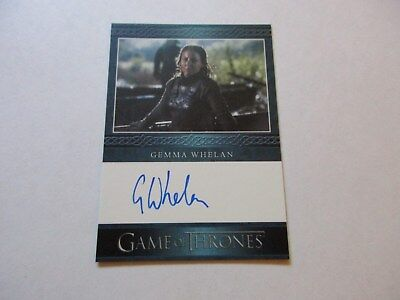 Game of Thrones Season 7 - Gemma Whelan as Yara Greyjoy Autograph Card