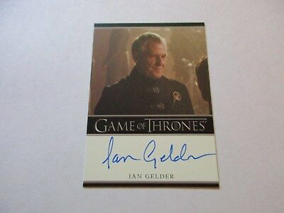 Game of Thrones Season 7 - Ian Gelder as Ser Kevan Lannister Autograph Card