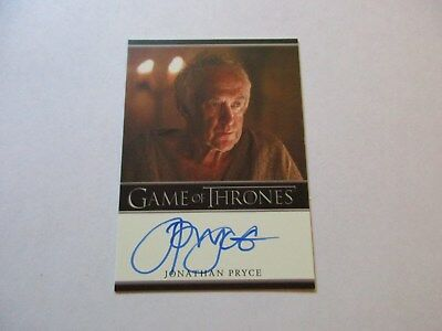 Game of Thrones Season 7 - Jonathan Pryce as High Sparrow Autograph Card