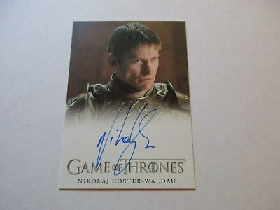 Game of Thrones Season 7 - Nikolaj Coster-Waldau / Ser Jaime Lannister Autograph