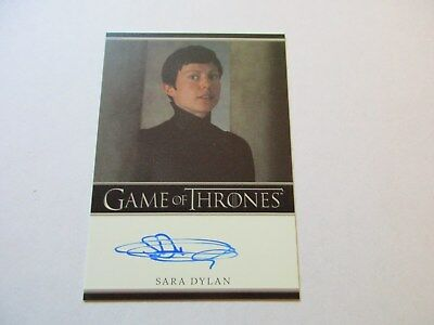 Game of Thrones Season 7 - Sara Dylan as Bernadette Autograph Card