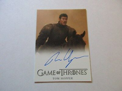 Game of Thrones Season 7 - Tom Hopper as Dickon Tarly Autograph Card