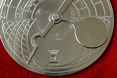 Christofle Astrolabe Metal Argente Silver Plate Rare
