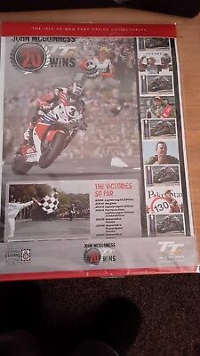 Isle Of Man -John Mcguinness Sheet - New Stamps