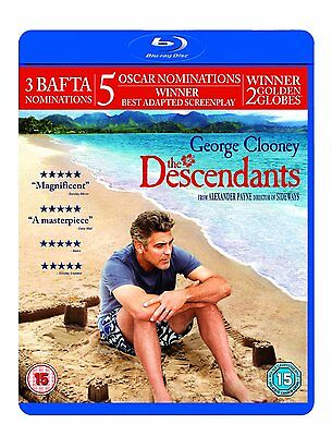 The Descendants (Blu-ray, 2012)  Brand new and sealed