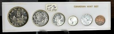 1953 Canada Proof-Like Mint Set - 6 Coins