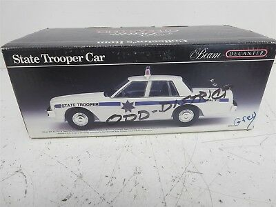 Beam Decanter State Trooper Car
