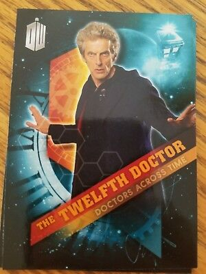 2016 Topps Doctor Who Timeless #12 The Twelfth Doctor - Doctors Across Time