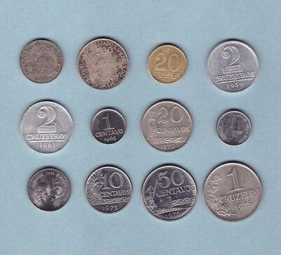 Brazil - Coin Collection - Lot # S-4 - World/Foreign/South America