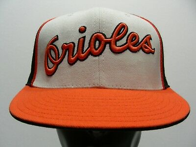 Baltimore Orioles - Mlb - American Needle - Size 7 1/2 Fitted Ball Cap Hat