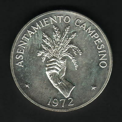 Panama. 1972 5 Balboas.. Silver FAO Issue..  BU