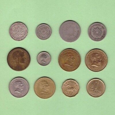 Uruguay - Coin Collection - Lot S-14 - World/Foreign/South America