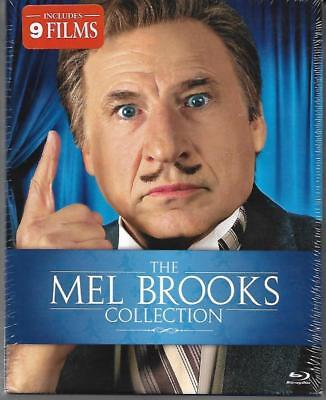 Blu-ray: The Mel Brooks Collection (9 Movies, 2012, 9-Disc Set) New