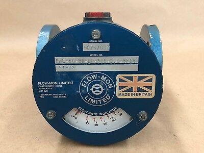 Flo-Mon Limited Fml-50-Bd-Lp-3Ee-1.e-8F16 Flow Monitor Indicator