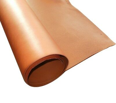 2Mm Thick A Grade Saddle Tan Full Grain Veg Tan Cowhide Tooling Craft Leather