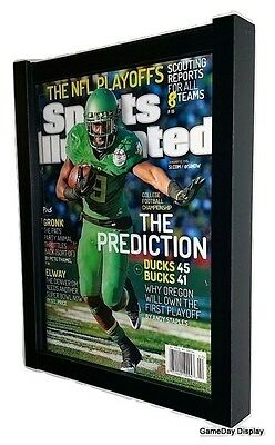 Lot of 3 Sports Illustrated Magazine Display Frame by GameDay Display