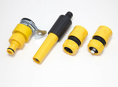 QTY 24 Of Snap Fit + 12 Multi Tap Hose Connector 12 Spray Nozzle == Total 48 F