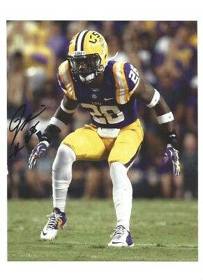 8af5eb93def JALEN MILLS Signed/Autographed LSU TIGERS 8x10 Photo EAGLES w/COA