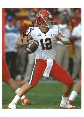 Syracuse Orangeman Sports Mem, Cards & Fan Shop Balls Ryan Nassib Signed Autographed Auto Nike Football
