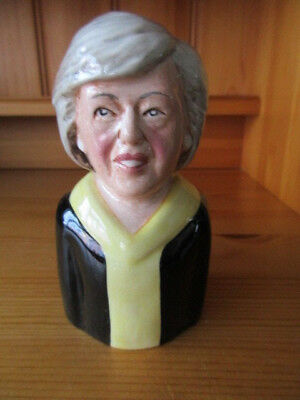 Theresa May Toby Jug by Bairstow Manor Pottery Ltd Edition Made In Staffordshire