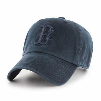 MLB Boston Red Sox Cap Basecap Baseballcap cleanup ganz navy Baseball Kappe