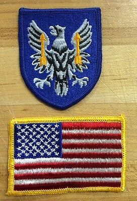 US Army 11th Aviation BDU USA Flag Flagge Reforger Uniform patch Aufnäher