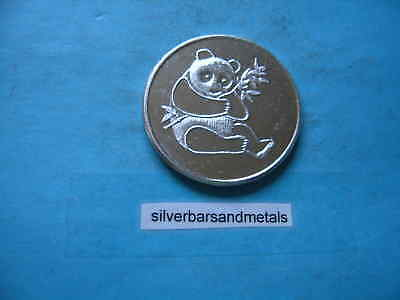 Panda Baby Cub 999 Silver Coin Round International Trade Rare Cool Item