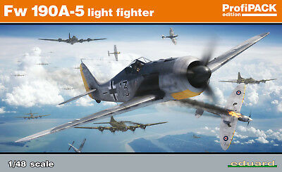 EDUARD 82143 Fw190A-5 Light Fighter in 1:48 ProfiPACK!!