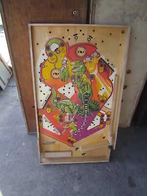 Atari Middle Earth , Spielfeld / Playfield , Flipper - Pinball  *
