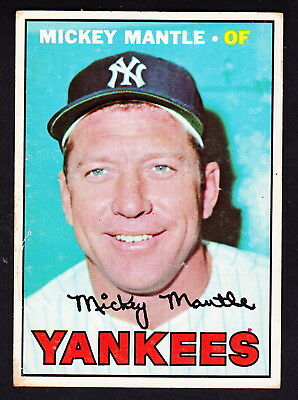1967 Topps #150 Mickey Mantle Yankees