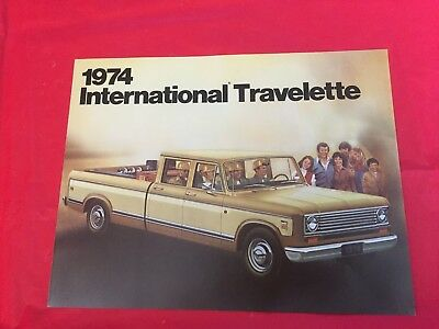 "1974 International ""Travelette"" Truck Dealer Sales Brochure"