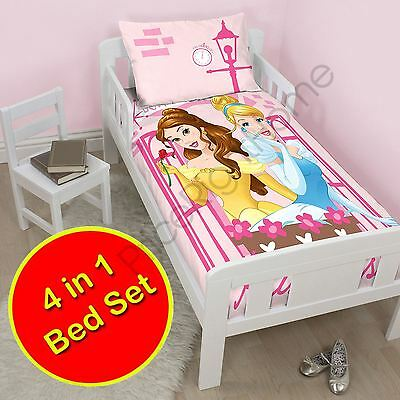 Disney Princess Boulevard 4 En 1 Ensemble De Literie Junior