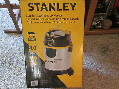 NEW 2014 Stanley Wet Dry Vac Model SL18143-A 5 Gallon 4 Hp Sealed Factory Box