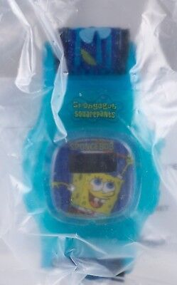 Kellogg's Cereal Watch Aqua SpongeBob Squarepants New In Sealed Package